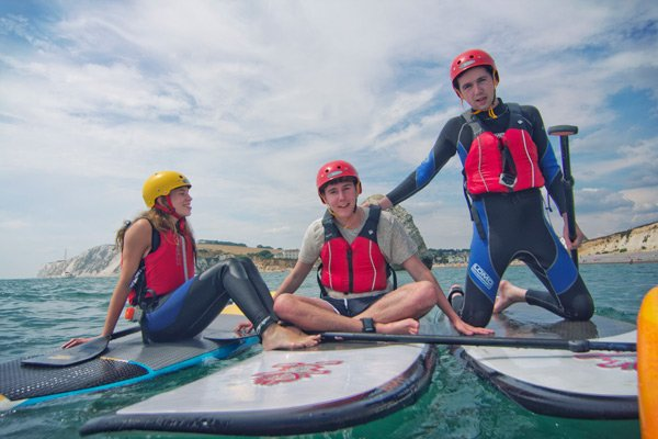 Watersports on the isle of wight